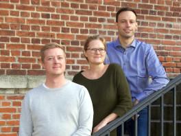 Rasmus Henriksen, Stine Roldgaard og Anders Wolf Andresen