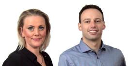 Marie-Louise Jørgensen og Anders Wolf Andresen