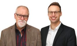 Niels Ulsing og Anders Wolf Andresen