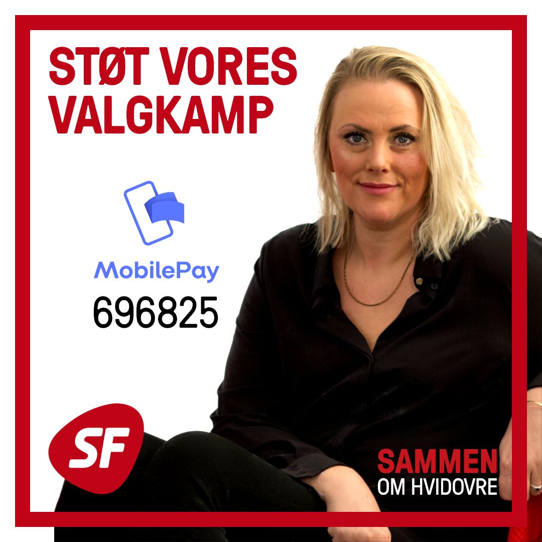 Støt vores valgkamp - Mobile Pay 696825